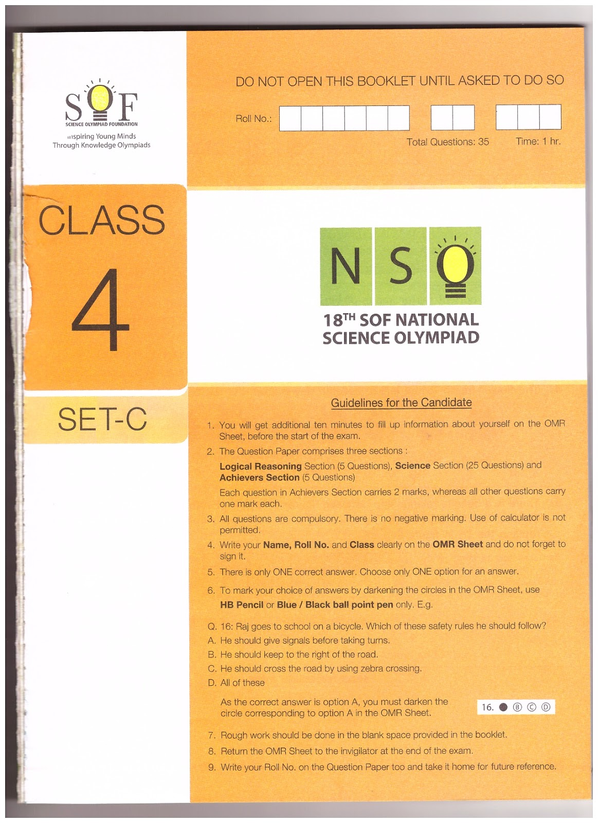 national science olympiad previous question papers Nso previous year papers with answers national science olympiad (nso) previous year / old question papers with answers / solutions are 2019 nso previous year question papers with answers 2018.