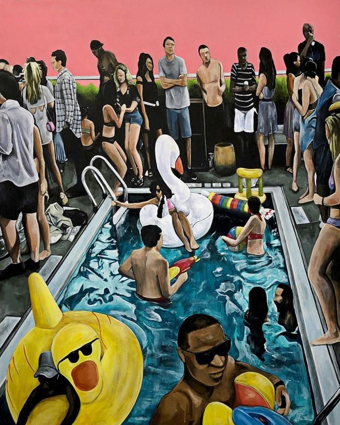 Американский художник. Courtney Heather
