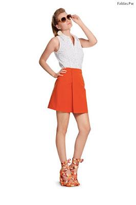 Faldas Cortas y Blusas