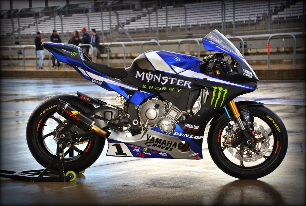 Racing Cafè: Yamaha YZFR1 AMA Team Monster Energy Graves