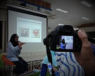 Dini Fitria menjelaskan tentang persuasi tulisan