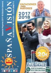 Españavision 2017-2018 catálogo de viajes