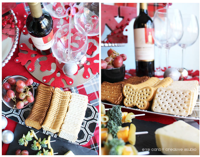 pepperidge farm crackers, wine & cheese party, holiday party tips