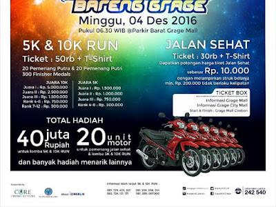 Grage Run 5K 10K 2016 Cirebon Core Cirebon Runners Grage Mall