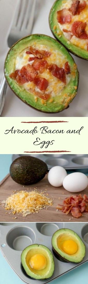 Avocado Bacon and Eggs #vegan #recipevegetarian