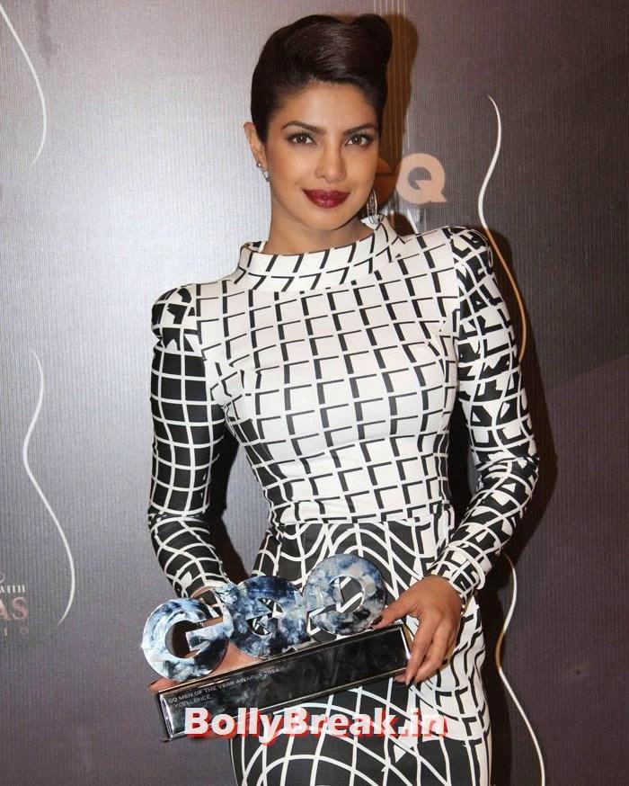 Priyanka Chopra, Red Carpet Pics of GQ Men Of The Year Awards 2014
