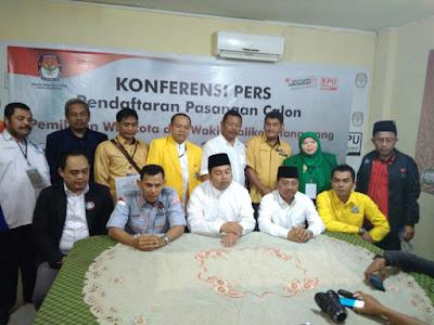 KPU Kota Tangerang Pastikan Satu Paslon Mendaftar Untuk Pilkada 2018