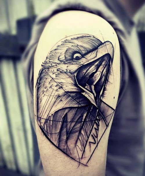 erkek omuz dövmeleri man shoulder tattoos 24