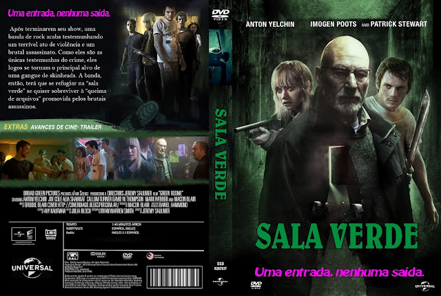 Capa DVD Sala Verde