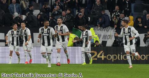 Start Terbaik Juventus di Serie A