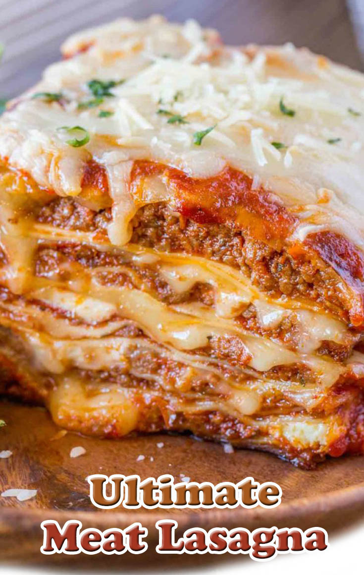 Ultimate Meat Lasagna #Ultimate #Meat #Lasagna #Dinner #Food