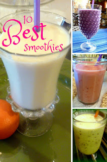 10 Seriously easy and mouthwatering smoothies that will keep you cool all summer long! - Slice of Southern
