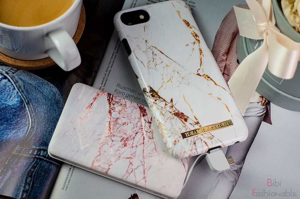 Ideal of Sweden Marble Case Marble Powderbank nah