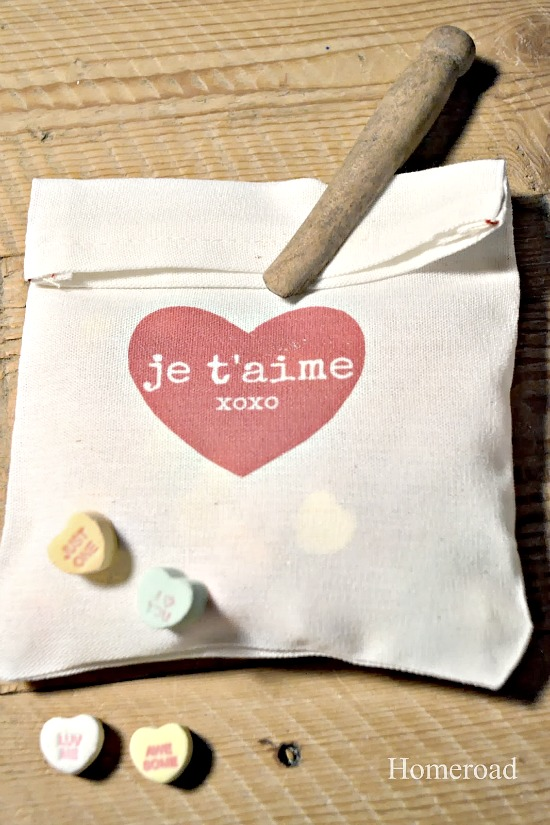 DIY Valentine Heart Bags & Transfer Paper