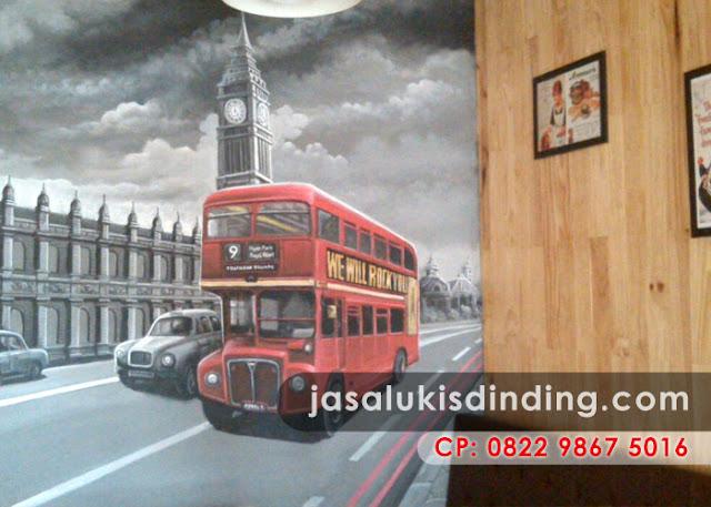Lukisan 3D di Surabaya