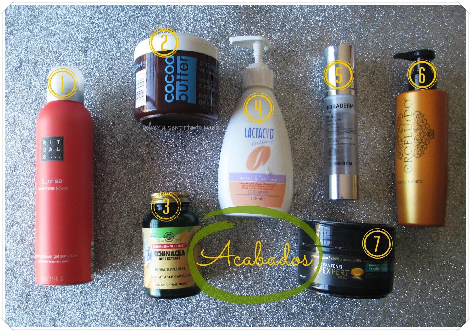 Productos de cosmética acabados en Febrero - Volver a Sentirte to Wapa