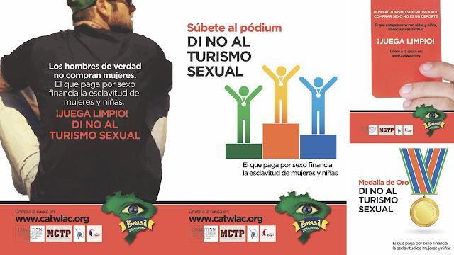 Campaña contra la trata de mujeres y niños