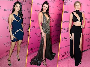 Kendall Jenner, Gigi Hadid, Selena Gomez... All stunning at the after party Victoria's Secret!