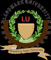 LandMark University 2018/2019 Postgraduate Admission Form Out