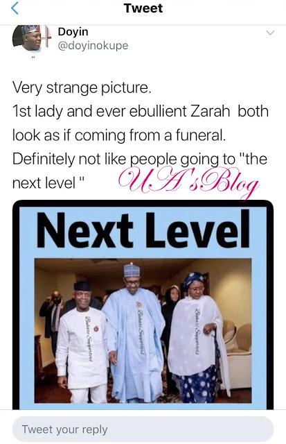 Atiku vs Buhari: 'They look like people coming from funeral' – Okupe mocks Aisha, Zarah Buhari
