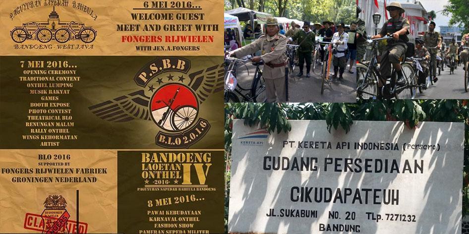 Bandung Lautan Onthel 6-8 Mei 2016