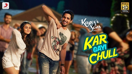 Kar Gayi Chull Kapoor & Sons New Bollywood Songs 2016 Sidharth Malhotra and Alia Bhatt with Badshah