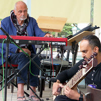 Roedelius & Chandra Shukla @ More Ohr Less 2017 / photo S. Mazars