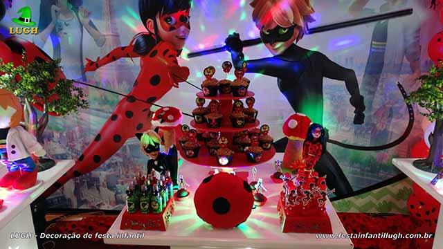 Decoração tema Miraculous - festa de aniversário infantil