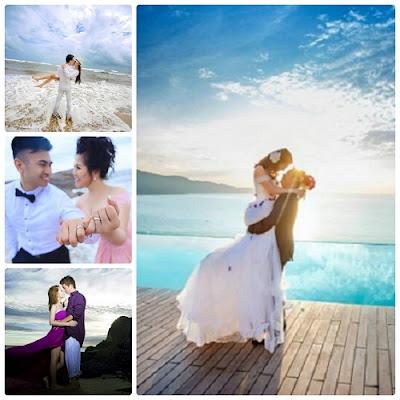 Một vài gợi ý cho trang phục chụp ảnh cưới ở biển