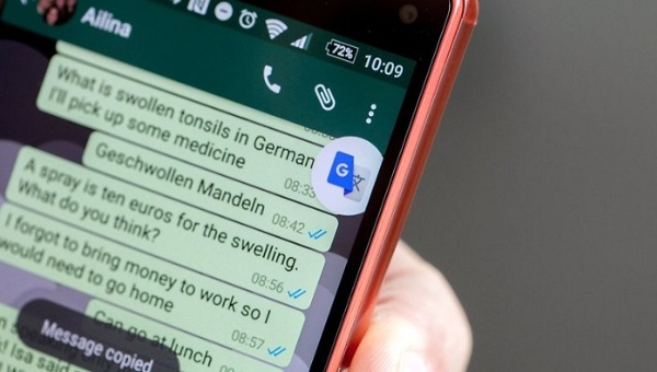 Google integra su traductor a la multiplataforma WhatsApp