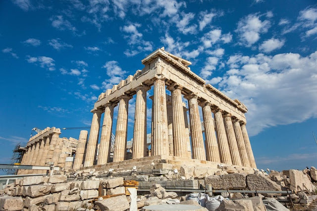 Visita à Acrópole, Atenas