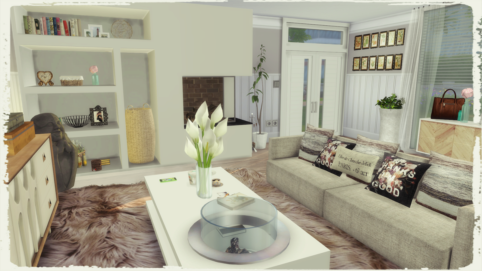 Modern Living Room Sims 4 Of Sims 4 Modern Living Room Dinha