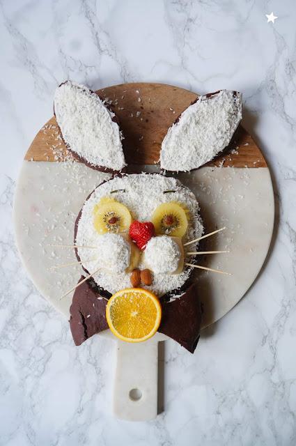 gâteau lapin cake design anniversaire enfants