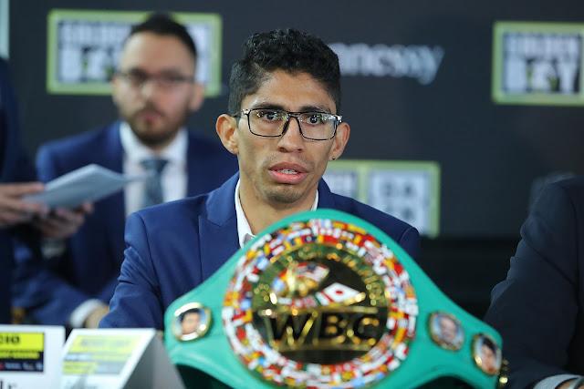 WBC Jr Featherweight Champion Rey Vargas