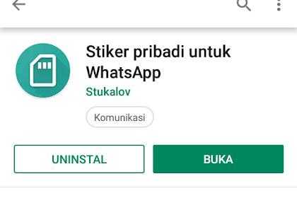 Cara Menjadikan Gambar Sendiri Menjadi Sticker WhatsApp