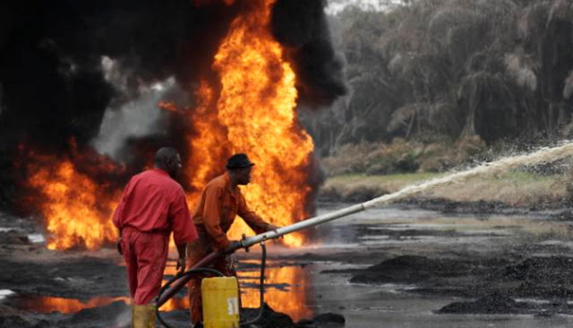 agip oil pipeline explosion bayelsa