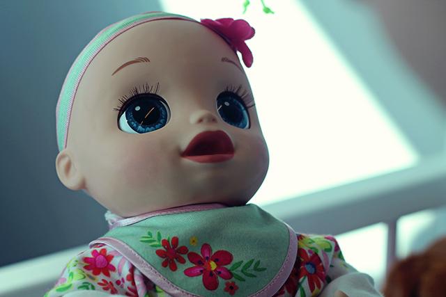 baby alive mooie ogen