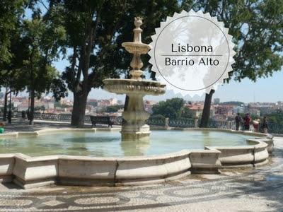 Cosa vedere al Barrio Alto: Fontana del Miradouro de Sao Pedro de Alcantara