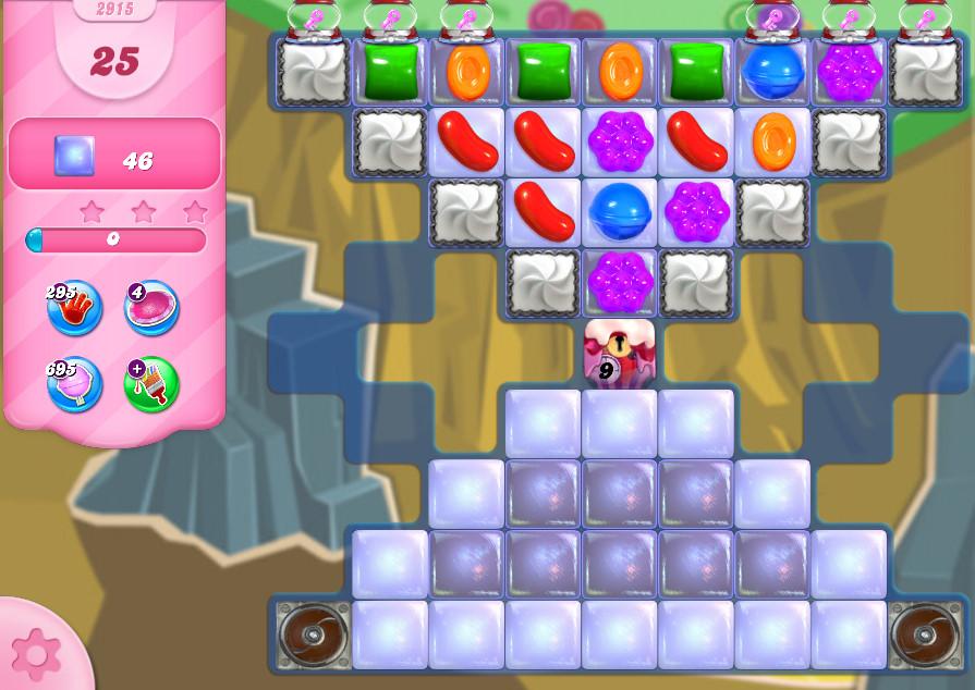 Candy Crush Saga level 2915