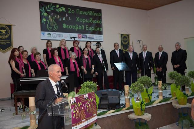 Στο 2ο Πανελλήνιο Χορωδιακό Φεστιβάλ Ευρώτα Λακωνίας η Δημοτική Χορωδία Επιδαύρου