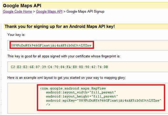 Xây dựng chương trình Map API(GPSLocator) trên ĐT Android