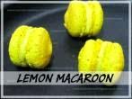 Lemon Macaroons