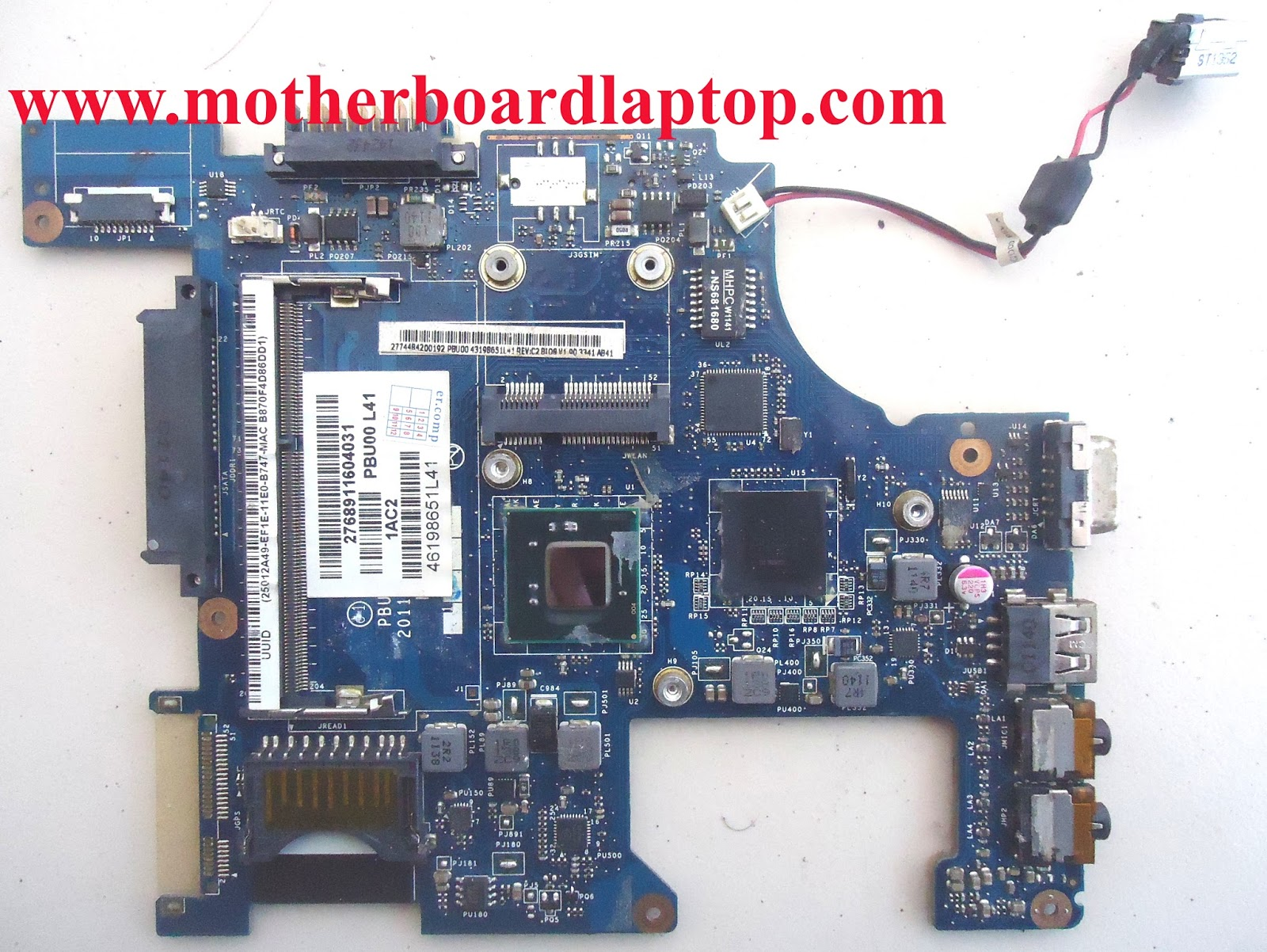 Motherboard Laptop Bekas Toshiba NB520