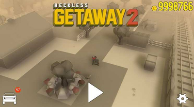 Reckless Getaway 2 Mod Apk v2.0.3 Unlimited Gold/Cars Terbaru