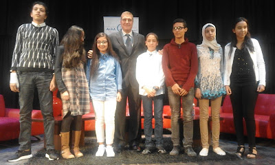 مراكش : تلاميذ/ات يقاربون موضوعة الاحتباس الحراري