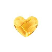 Origami Owl Sunflower Crystal Heart available at StoriedCharms.com
