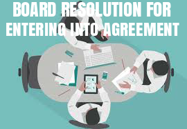 Board-Resolution-Entering-Into-Agreement