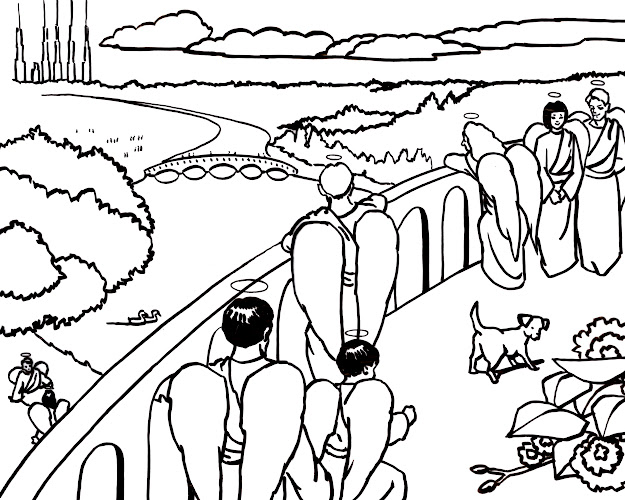 The Heaven Is For Real App Has Beautiful Coloring Pages That You Can Print  Out And