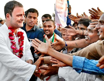 राहुल गांधी ने गुजरात के 26वें मंदिर में किए दर्शन, बाहर आए तो लगे मोदी-मोदी के नारे