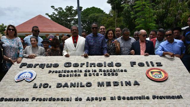 Hato Nuevo Cortés, Las Yayas: habitantes reciben con alegría el parque Gerineldo Féliz